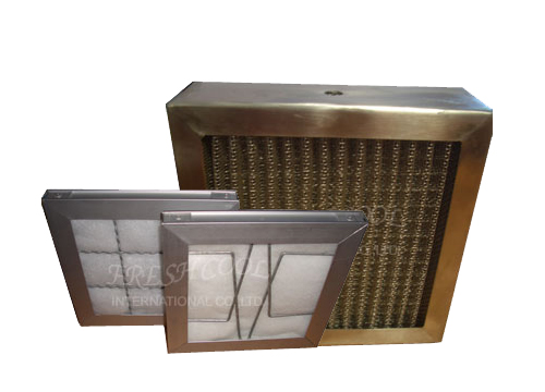Aluminium  Filter, Extruded AluminiumStainless/Frame and Steel Cover Zinc